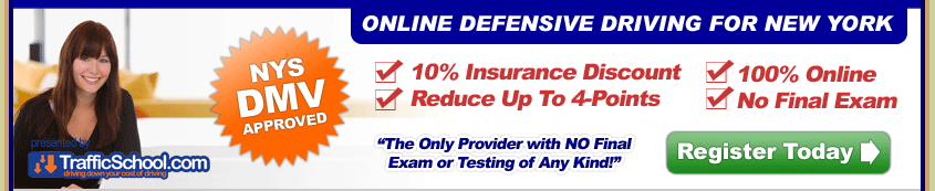 New York DMV Approved Defensive Driving